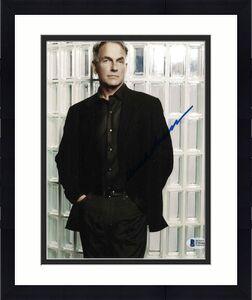 Mark Harmon Signed 8x10 Photo Ncis Beckett Bas Autograph Auto Coa C