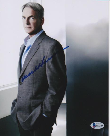 Mark Harmon Signed 8x10 Photo Ncis Ucla Bruins Beckett Bas Autograph Auto A