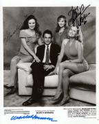 MARK HARMON+MADELEINE STOWE+WARREN HAND SIGNED 8x10 PHOTO+COA      WORTH WINNING