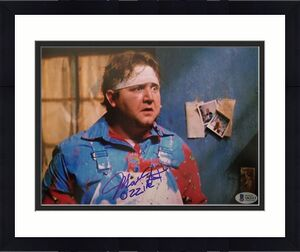 Mark Holton Signed Ozzie Leprechaun 8x10 Autographed Photo Bas Coa The magical horror icon comes flying back out of the well in a terrifyingly funny new trailer for leprechaun returns. mark holton signed ozzie leprechaun 8x10 autographed photo bas coa