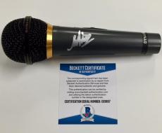 MARK HOPPUS Autograph Signed MIC Microphone w/ BAS Beckett COA ~ Blink 182 Auto