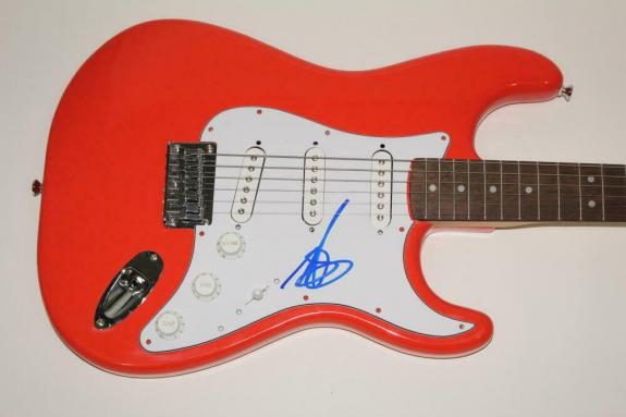 Mark Hoppus Signed Autograph Fender Brand Electric Guitar - Blink 182 California