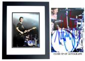 Mark Hoppus Signed - Autographed BLINK 182 Singer 11x14 inch Photo BLACK CUSTOM FRAME - Guaranteed to pass PSA or JSA