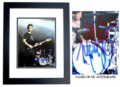 Mark Hoppus Signed - Autographed BLINK 182 Singer 11x14 inch Photo BLACK CUSTOM FRAME - Guaranteed to pass PSA or JSA