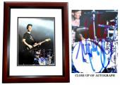 Mark Hoppus Signed - Autographed BLINK 182 Singer 11x14 inch Photo MAHOGANY CUSTOM FRAME - Guaranteed to pass PSA or JSA