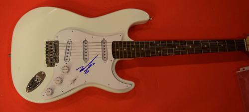 Mark Hoppus Signed Autographed Electric Guitar Bassist of Blink 182
