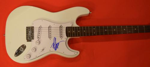 Mark Hoppus Signed Autographed Electric Guitar Bassist of Blink 182 B