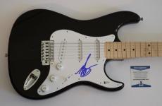 Mark Hoppus Signed Autographed Electric Guitar BLINK 182 Beckett BAS COA