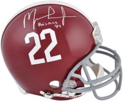 "Ingram, Mark Auto ""heisman 09"" (alabama) Pro Helmet"