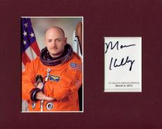 Mark Kelly NASA Astronaut Space Shuttle Endeavour Signed Autograph Photo Display