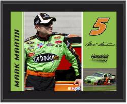 Mark Martin 10.5'' x 13'' Sublimated Plaque - Mounted Memories