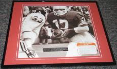 Mark McBath 1977 Texas vs Oklahoma Red River Shootout Framed 8x10 Poster Photo