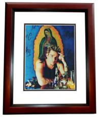 Mark McGrath Signed - Autographed Sugar Ray 8x10 Photo MAHOGANY CUSTOM FRAME