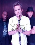 Mark McGrath Autographed Sugar Ray Signed Photo UACC RD AFTAL