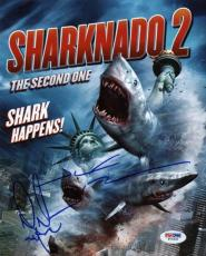 Mark Mcgrath & JUDAh Friedlander Sharknado 2 Signed 8X10 Photo PSA/DNA #W79590