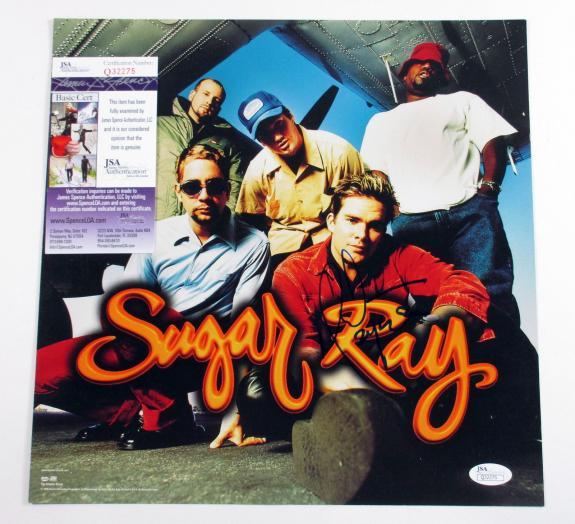 Mark McGrath Signed Album Promo Card Sugar Ray 14:59 JSA AUTO