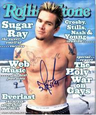 Mark McGrath Signed - Autographed Sugar Ray FULL-Original Rolling Stone Magazine from March 18, 1999