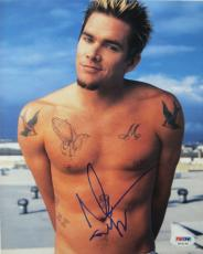 Mark McGrath Signed Sugar Ray Autographed 8x10 Photo (PSA/DNA) #K03148