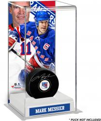 Mark Messier New York Rangers Deluxe Tall Hockey Puck Case