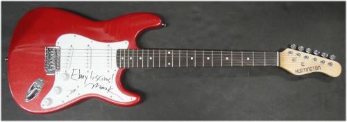 Mark Mothersbaugh Hand Signed Auto Electric Guitar Devo Ebayliscious JSA S40558