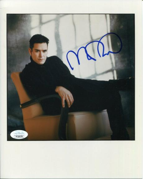 Mark-Paul Gosselaar Saved by the Bell Zack NYPD Blue Signed Autograph Photo JSA