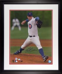 "Mark Prior Chicago Cubs Autographed 16"" x 20"" Framed Photograph - Mounted Memories"