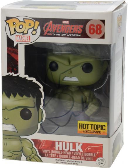 Mark Ruffalo Avengers Autographed #13 Hulk Funko Pop! - JSA