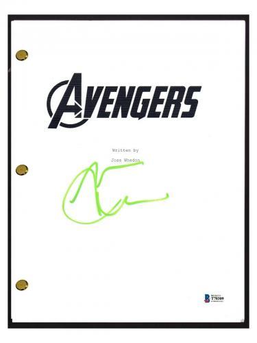 Mark Ruffalo Signed Autographed THE AVENGERS Movie Script Screenplay Beckett COA