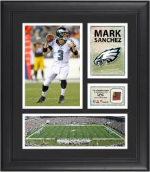 Mark Sanchez Philadelphia Eagles Framed 15'' x 17'' Collage with Game-Used Football