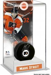 Mark Streit Philadelphia Flyers Deluxe Tall Hockey Puck Case