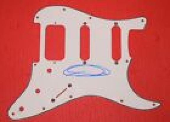 Mark Tremonti Signed Autograph Electric Guitar Pickguard CREED ALTER BRIDGE COA