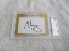 Mark Wahlberg 2017 Leaf Masterpiece Cut Signature signed autograph card 1/1 JSA
