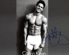 Mark Wahlberg Abs Sexy Muscles CK Autographed Signed 8x10 Photo UACC RD AFTAL