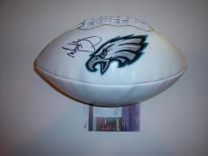 Mark Wahlberg Actor,invincible,philadelphia Eagles Jsa/coa Signed Football