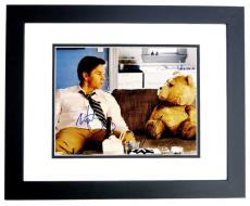 Mark Wahlberg and Seth MacFarlane Signed - Autographed TED 11x14 inch Photo BLACK CUSTOM FRAME - Guaranteed to pass PSA or JSA