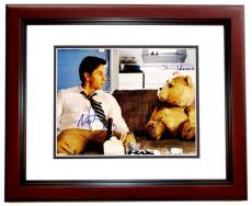 Mark Wahlberg and Seth MacFarlane Signed - Autographed TED 11x14 inch Photo MAHOGANY CUSTOM FRAME - Guaranteed to pass PSA or JSA