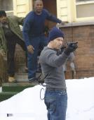 "Mark Wahlberg Autographed 11"" x 14"" Four Brothers Shotgun Photograph - BAS COA"