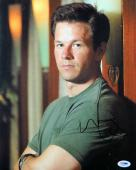 Mark Wahlberg Autographed 11X14 Photo Sexy Gorgeous Arms Crossed PSA S98667