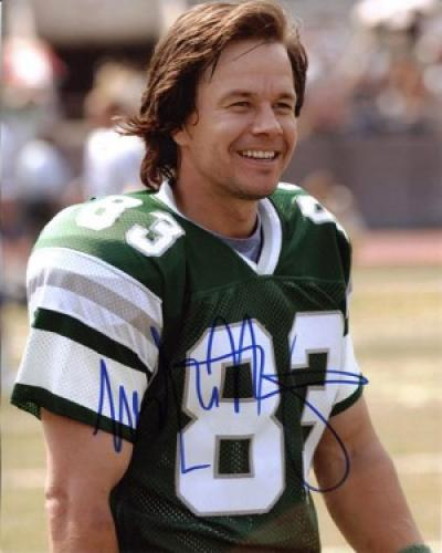 "Mark Wahlberg Autographed 8x10 Photo from ""Invincible"