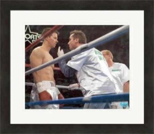 Mark Wahlberg autographed 8x10 Photo (The Fighter as Micky Ward) #SC1 Matted & Framed
