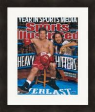 Mark Wahlberg autographed 8x10 Photo (The Fighter Boxing Movie Micky Ward) Image #SC2 Magazine Cover Matted & Framed