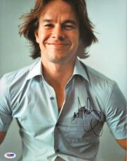 Mark Wahlberg Autographed Signed 11x14 Photo PSA DNA