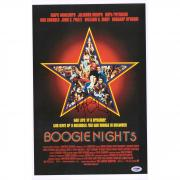 "Mark Wahlberg Boogie Nights Autographed 12"" x 18"" Movie Poster - PSA"