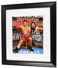 Mark Wahlberg Christian Bale Signed Heavy Hitters Photo AFTAL