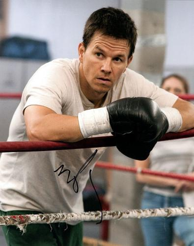 Mark Wahlberg Fighter Autographed Signed Photo RACC TS UACC RD AFTAL