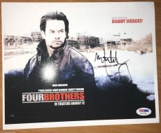 Mark Wahlberg FOUR BROTHERS movie signed autographed 8x10 photo PSA DNA COA LOA