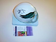 Mark Wahlberg Invincible,papale,philadelphia Eagles Jsa/coa Signed Mini Helmet