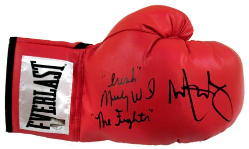"Mark Wahlberg & ""Irish"" Micky Ward ""The Fighter"" Signed Glove"
