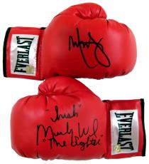 "Mark Wahlberg & ""Irish"" Micky Ward ""The Fighter"" Signed Gloves"