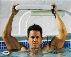 """Mark Wahlberg """"No Pain No Gain"""" Autographed Signed 8x10 Photograph (PSA)"""